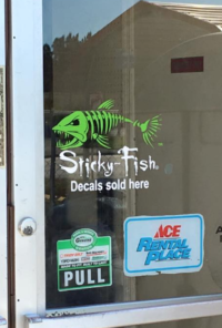 Here is a list of our sticky fish retailers click on for Closest fish store