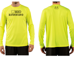 Athletic Gear State Running Long Sleeve Shirt